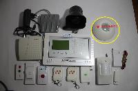 10 Zone Wireless System with Hooter and Light Switch Into