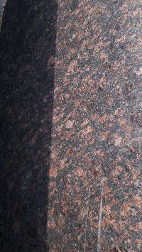 TEN BROWN GRANITE SLABS