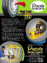 Tyre Press Machine