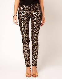 Brocade Formal Pants