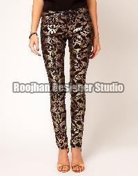 Brocade Formal Pants