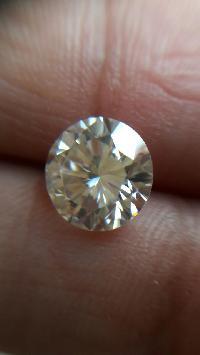 Near White Moissanite Diamond