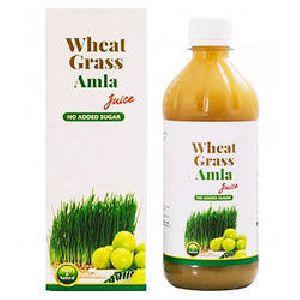 Wheat Grass Amla Herbal Juice