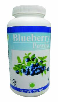 herbal blueberry powder