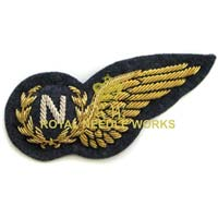 Embroidered Wings Badges