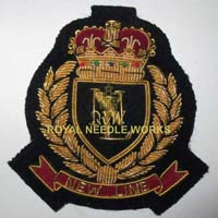 Hand Embroidered Fashion Badges