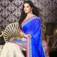 Bridal Net Sarees