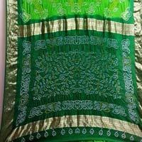 Pure Silk Bandhni Sarees