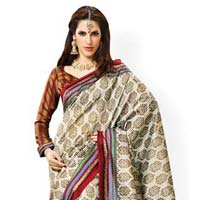 Silk Printed Party Wear Sarees