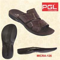 Mens PU Micra Slippers