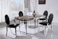 Stainless Steel Hotel Tables and Chairs