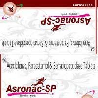 Aceclofenac Paracetamol sp tablets