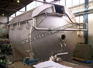 Stainless Steel Storage Tank Body Plate