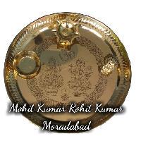 Brass Puja Plate
