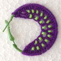 Thread Work Earrings