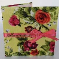 Summer Bloom Wedding Invitation Cards