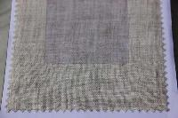 Solid Natural Linen Fabric