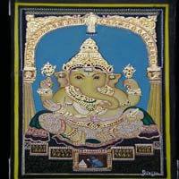 Gold Leaf for Tanjore Paintings