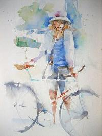 Figuartive Watercolor Paintings