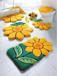 tufted bath mats