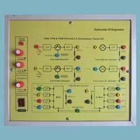 Pam Pwm Ppm Modulation & Demodulation Trainer Kit