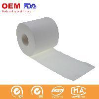 White Biodegradable Soft Toilet Paper Roll