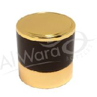 AWC-00034 GOLD BROWN Perfume Bottle