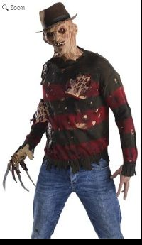 Freddy Krueger Sweater With Exposed Flesh