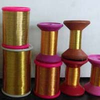 Golden Zari Thread