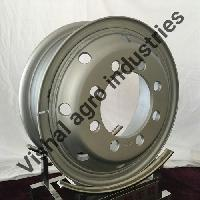 Steel Truck Wheel With Lock Ring