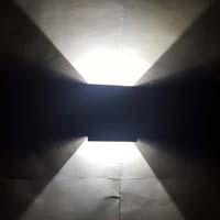 Decoradda Cut White 1w Led Wall Ceiling Light