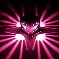Decoradda Palm Pink 1w Led Wall Ceiling Light