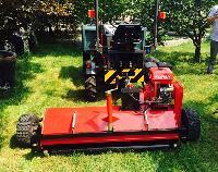 ATV mower machine