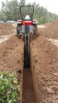 High efficiency trencher sale