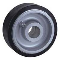 Cast Iron Rubber Wheel