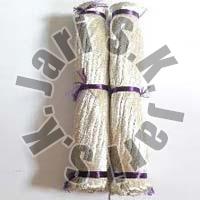 Silver Cotton Zari Threads