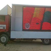 Led Video Van , Mobile Van  Provider On Rental...