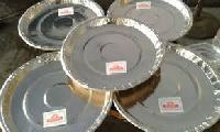 Silver Foil Paper Plates