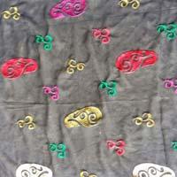 Silk & Polyester Kaftan Fabric
