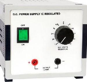 Ic Regulated Dc Power Supply