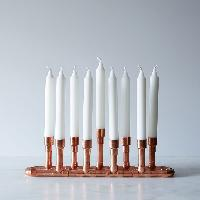 Copper Candle Holder