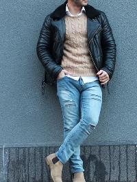 Men Leather Jacket 02