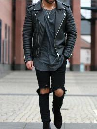 Men Leather Jacket 03