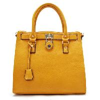 Leather fancy ladies hand bags