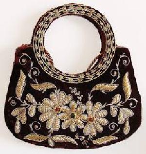 Zari Work Hand Bags