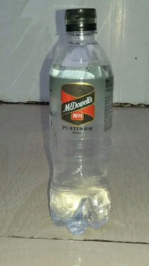 McDowell's No1 Platinum Soda