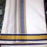 Cotton Puja Dhoti Fabric
