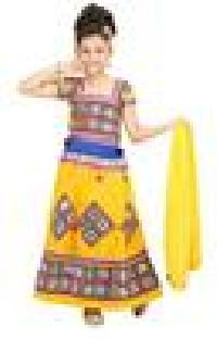 Yellow Garbha Dress