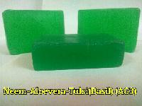 Neem Aloevera Tulsi Transparent Soap