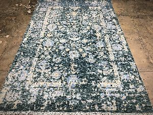 Hand Knotted Traditional Design Woolen Carpets 03